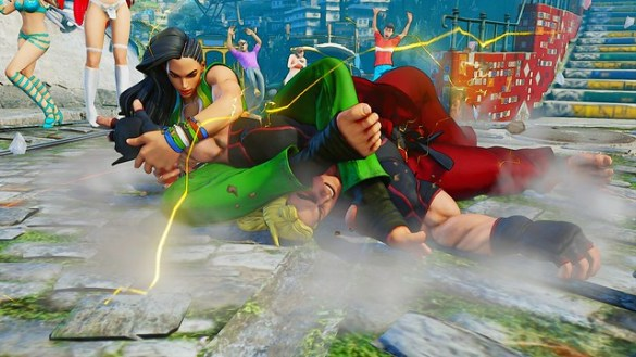 Street Fighter V Laura Matsuda