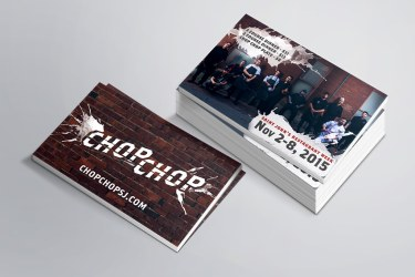 Chop Chop Business Cards