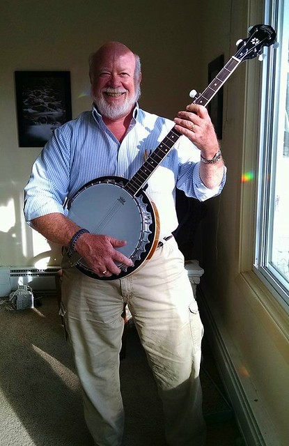 Tom with Banjo