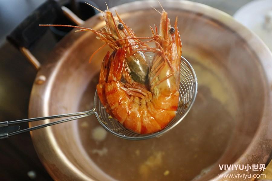 台北火鍋,台北美食,海鮮火鍋,涮涮鍋,螃蟹,超越活魚活蟹涮涮鍋 @VIVIYU小世界