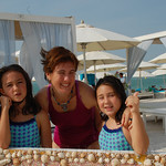 Viajefilos en Yas Beach de Abu Dhabi 01