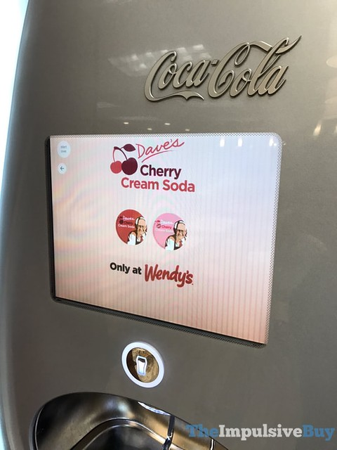 Dave's Cherry Cream Soda Only at Wendy's