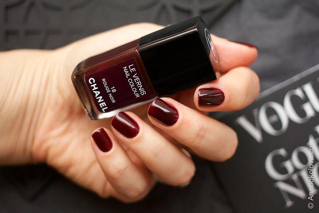 03 Chanel 18 Rouge Noir Ann Sokolova swatches