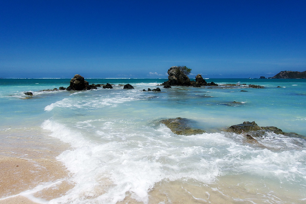 Kuta Beach, Lombok Island