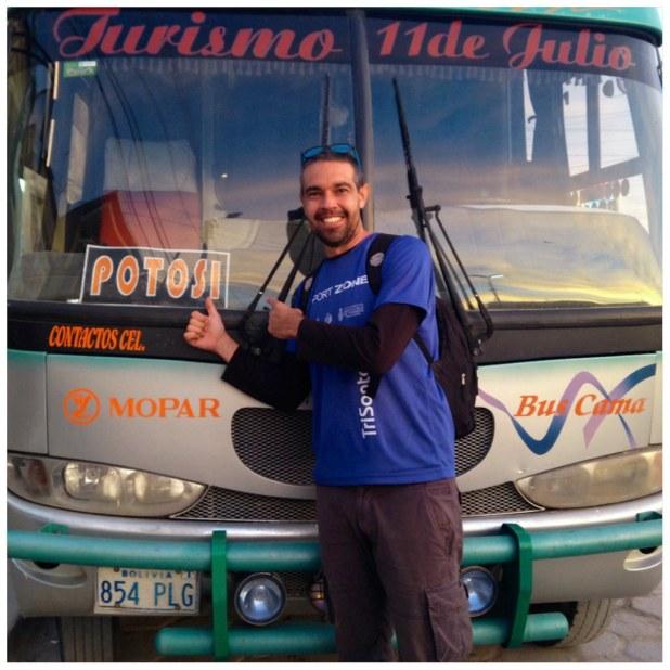 Bus a Potosi