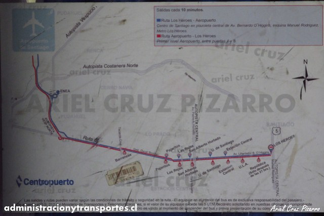 Trazado Centropuerto - DRZH35