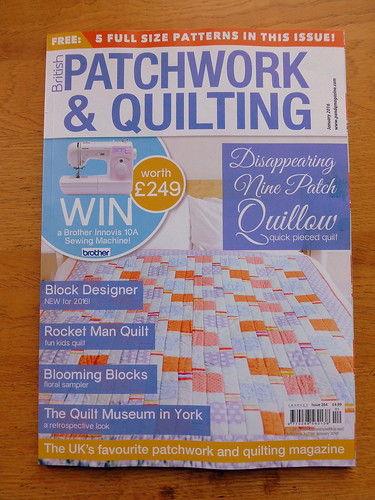 British Patchwork & Quilting Jan16