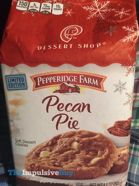 Pepperidge Farm Limited Edition Dessert Shop Pecan Pie Soft Dessert Cookies
