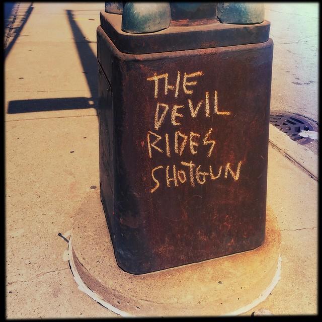The Devil Rides Shotgun
