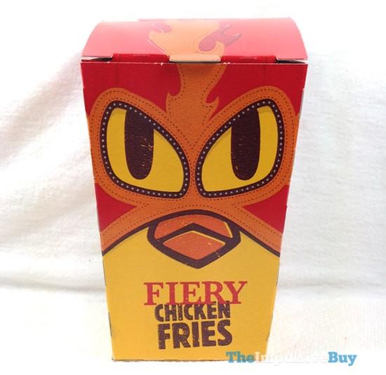 Burger King Fiery Chicken Fries