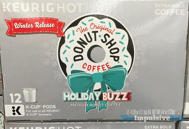 The Original Donut Shop Coffee Winter Release Holiday Buzz K-Cup