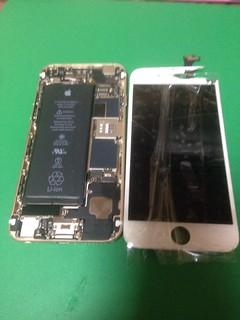 195_iPhone6のフロントパネル液晶割れ