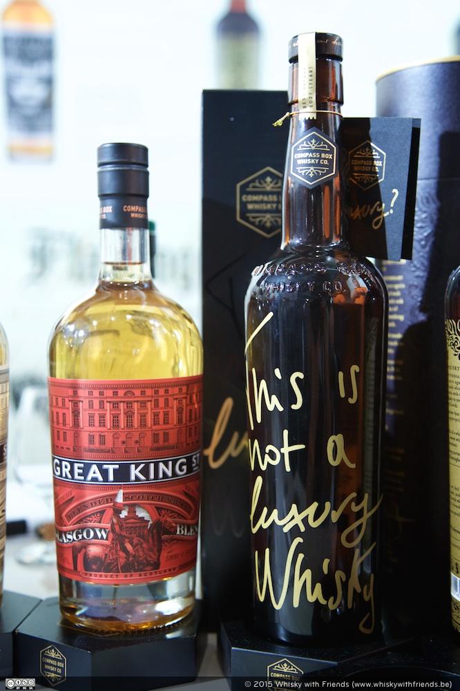 Ook bij The Compass Box weten ze dat ook blended whisky's lekker kunnen zijn.