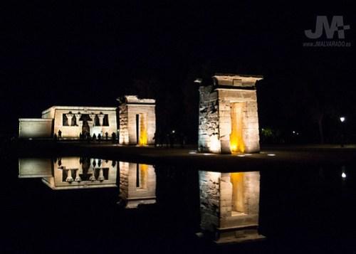 Templo de Debod, Madrid 2 (reflejos)