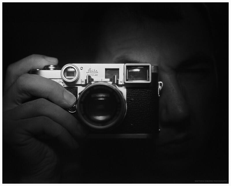 Leica M3 Selfie