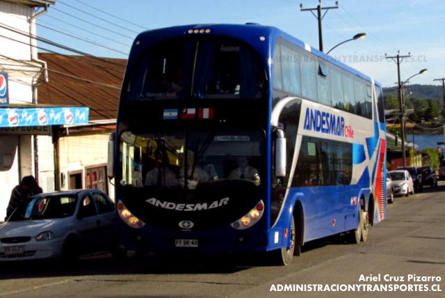 Andesmar Chile - Valdivia - Metalsur Starbus / Mercedes Benz (FYBK43)