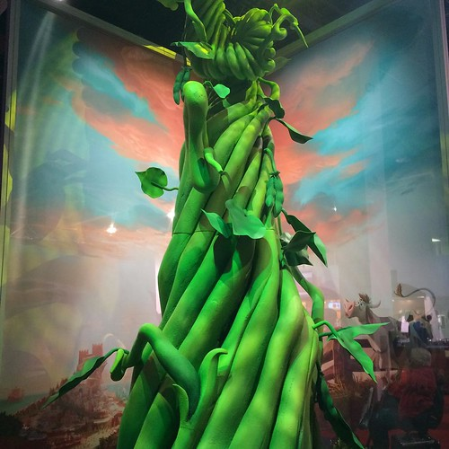 GIGANTICの発表を受け、豆の木が登場。