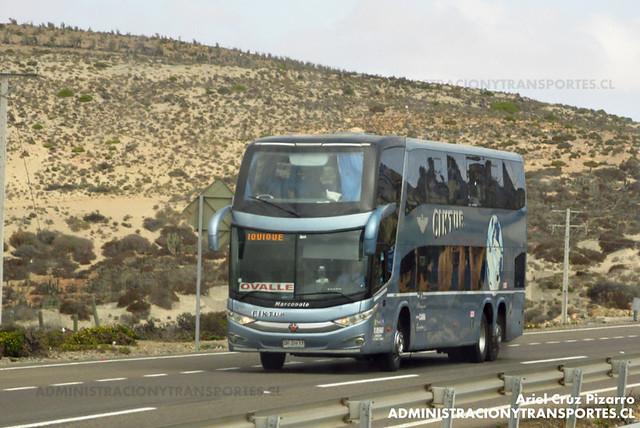 Ciktur - Norte Chico - Marcopolo Paradiso 1800 DD / Volvo (DRZH17)