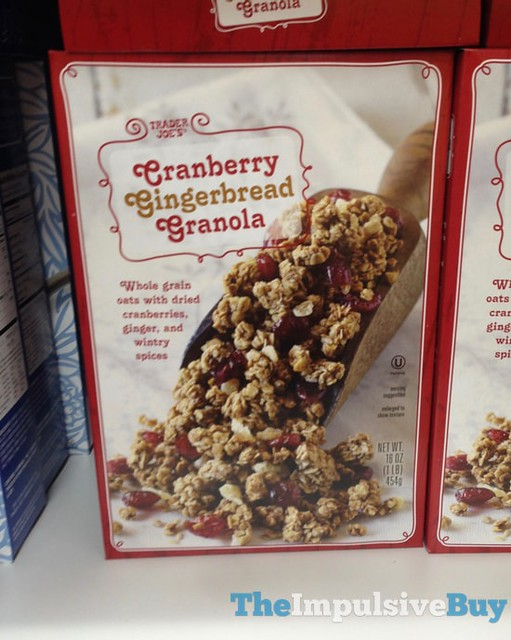 Trader Joe's Cranberry Gingerbread Granola