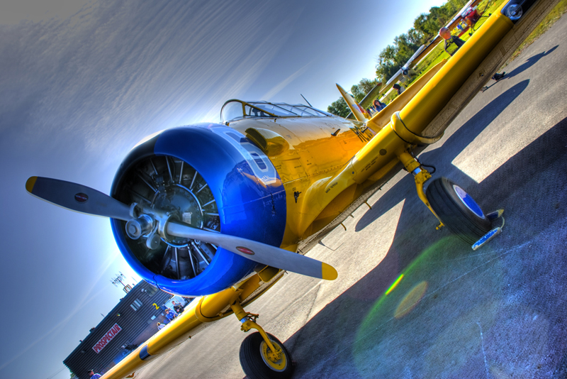 Imagen gratis de un avión acrobático