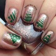 12 days of christmas nail art