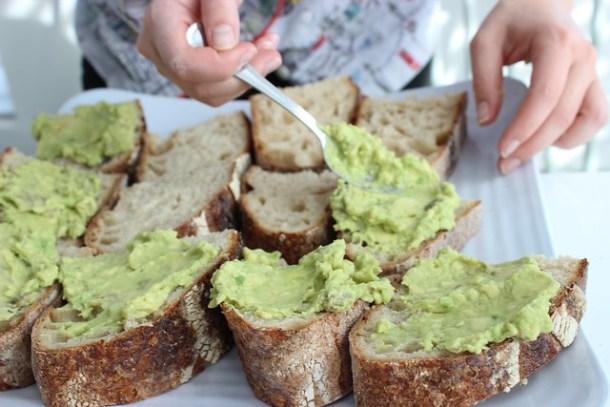 hipster toast birthday brunch