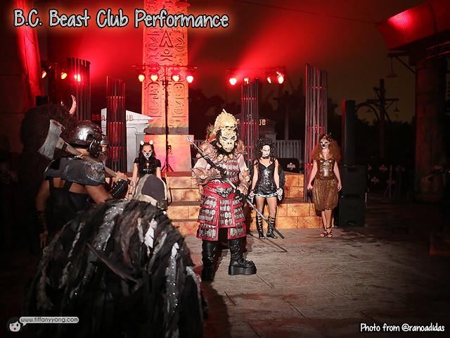 HHN5 Beast Club Performance