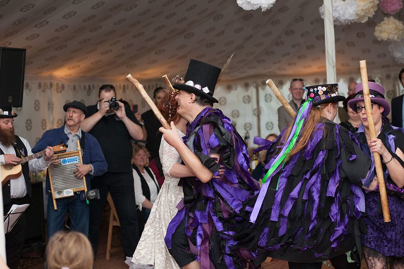 Morris dancers' first dance