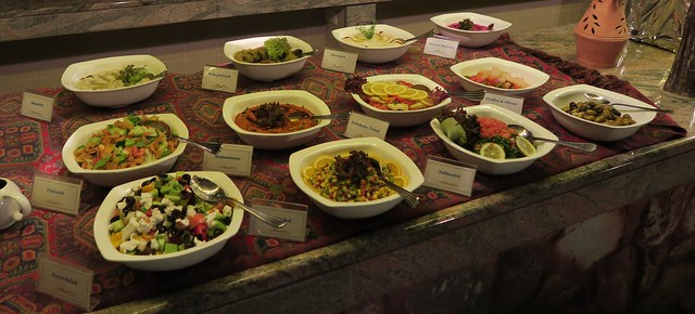 arabian nights village salads