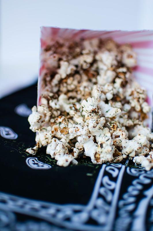 Garlic Dill Popcorn 1