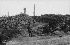 kartouschenhaufen - the result of constant shelling