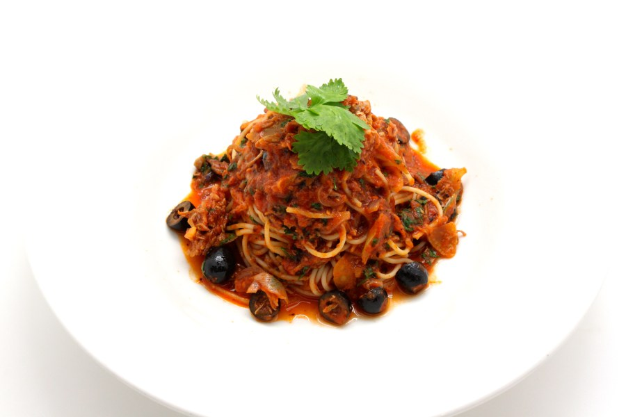 Duck arrabiata