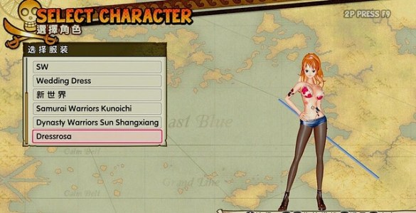 One Piece Pirate Warriors 3 Nami Mod