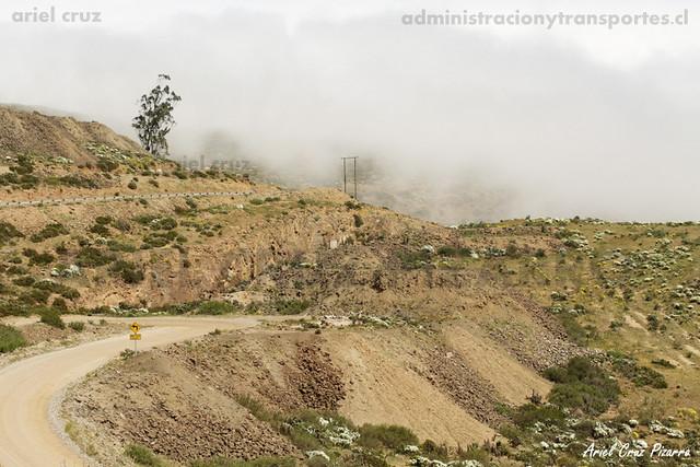 Nubes orográficas - Cordillera de la Costa (Chile)