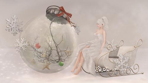 White Fantasy Christmas