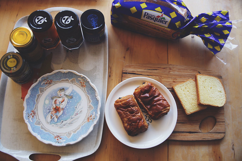 Breakfast with Brioche Pasquier