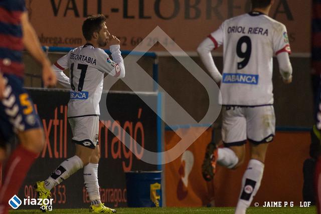 Copa del Rey. 1/16 ida. Llagostera - R.C.Deportivo