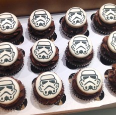 Storm Troopers Cookie cupcake-toppers