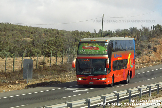 Pullman Bus - Norte Chico - Marcopolo Paradiso 1800 DD / Scania (BHFJ21) (2118)