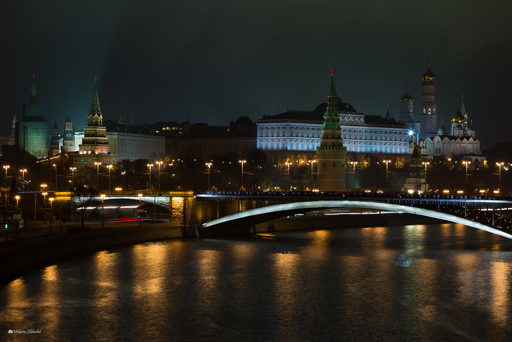 The Kremlin and Stone bridge