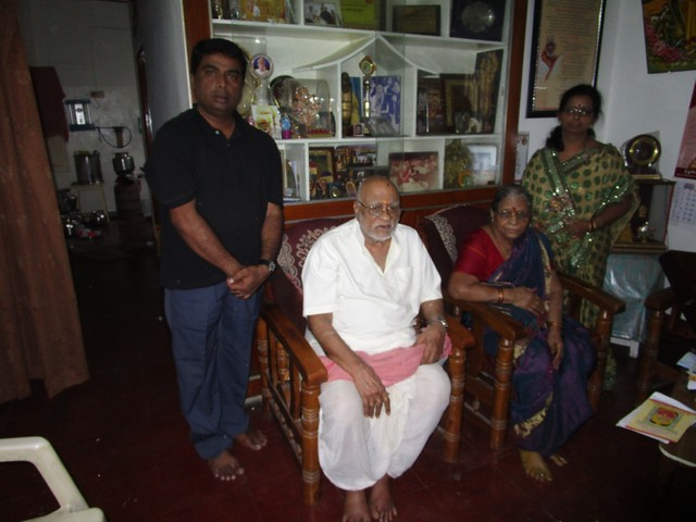 With Shri. Malladi Chandrasekhara Sastry garu
