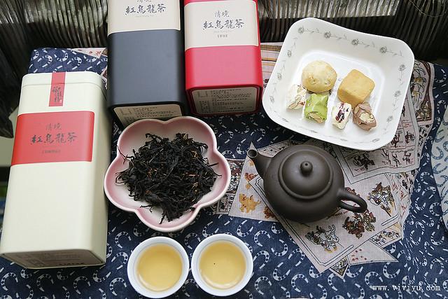 烏龍茶,禮盒,篩馥仔,紅烏龍茶,茶葉禮盒 @VIVIYU小世界