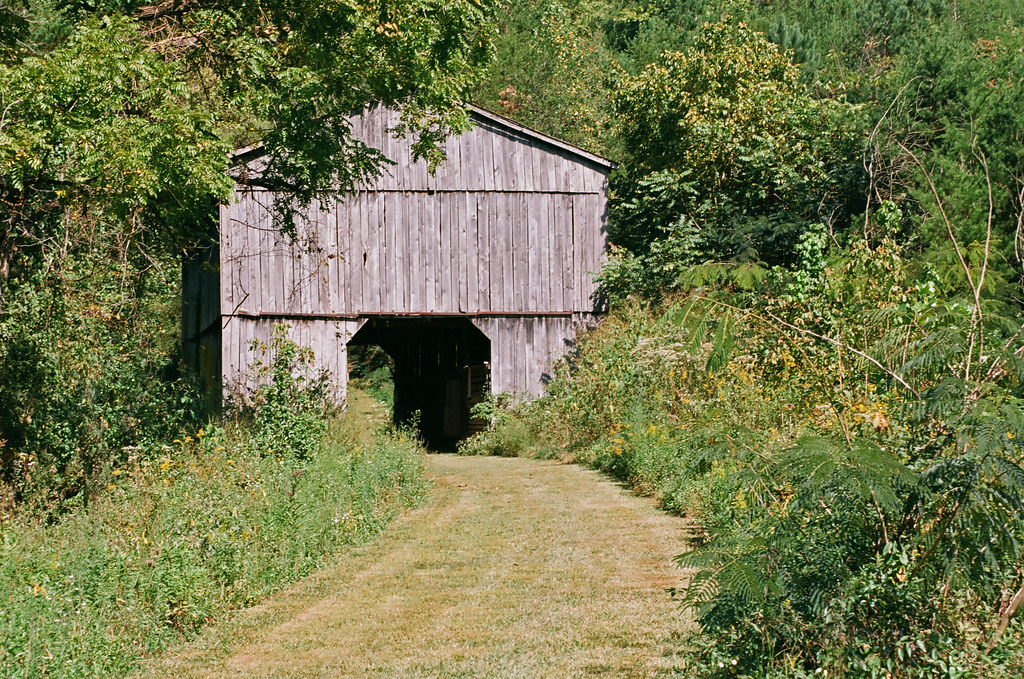 Barn on the trail