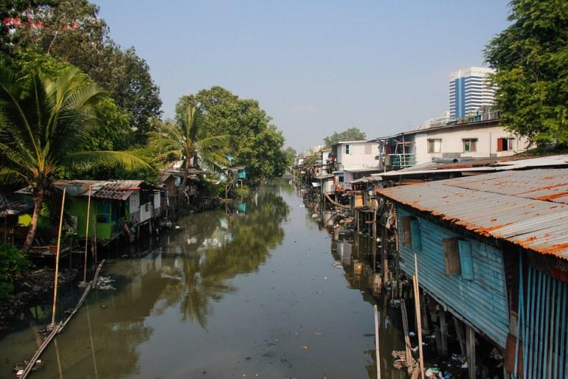 slummen i Bangkok