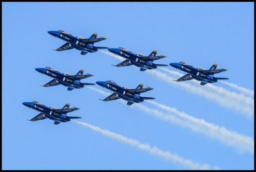 Blue Angels - San Francisco - 2015