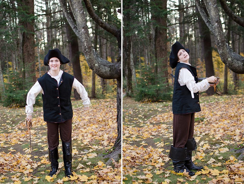 Halloween 2015 - Lillia the pirate