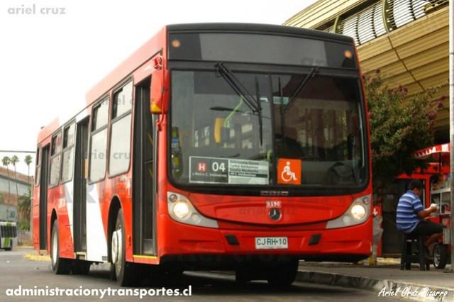 Transantiago - Buses Gran Santiago - Caio Mondego H / Mercedes Benz (CJRH10)