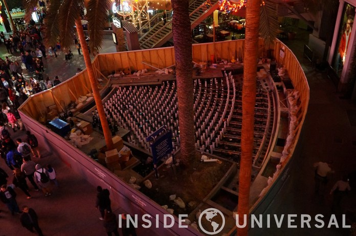 Photo Update: December 19, 2015 - Universal Studios Hollywood - CityWalk Fountains