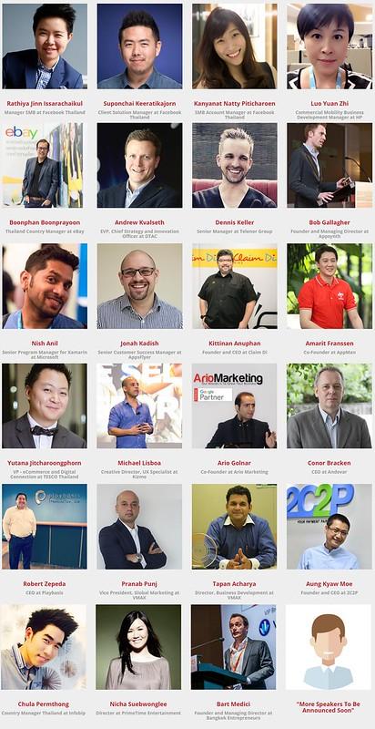 ตัวอย่างวิทยากรในงาน Thailand Mobile Summit 2016