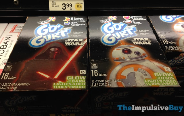 Yoplait Star Wars Go-Gurt